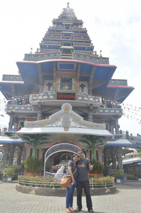 Gereja Unik Annai Velangkanni di Medan Ala Kuil Hindu