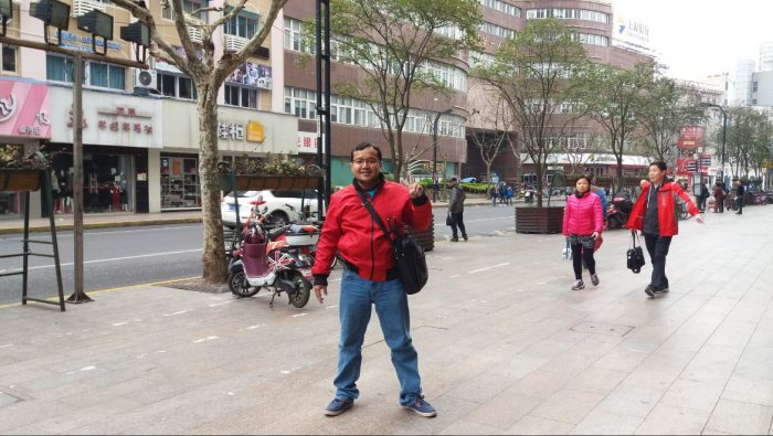 liburan ke kota shanghai