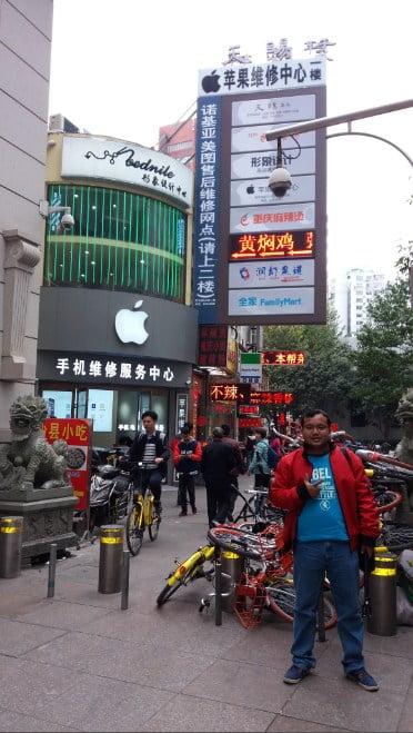 jalan jalan di kota shanghai