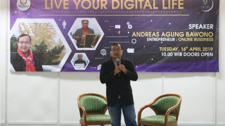 Seminar Digital Marketing di Matana University
