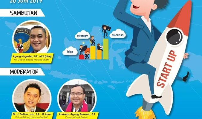 Seminar Utk Startup E-Commerce di Badan Siber dan Sandi Negara