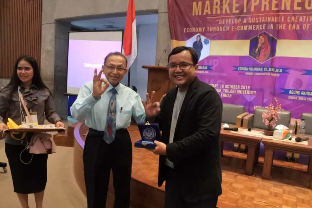 Seminar Digital Marketing di Universitas Trilogi Jakarta