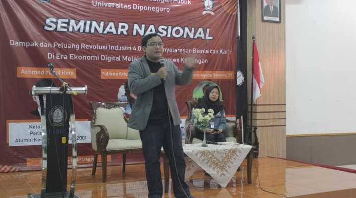 Pembicara Digital Marketing Andreas Agung