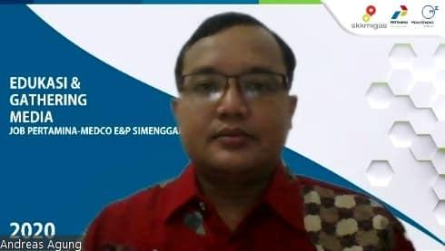 Pembicara Webinar Digital Marketing Pertamina Medco JOB Simenggaris