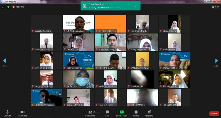 Pembicara Webinar Digital Marketing Politeknik Ahli Perikanan