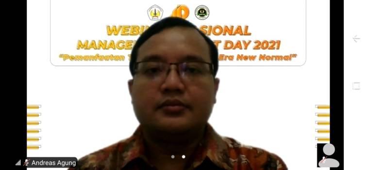 Pembicara Webinar Digital Marketing Universitas Tanjungpura Pontianak