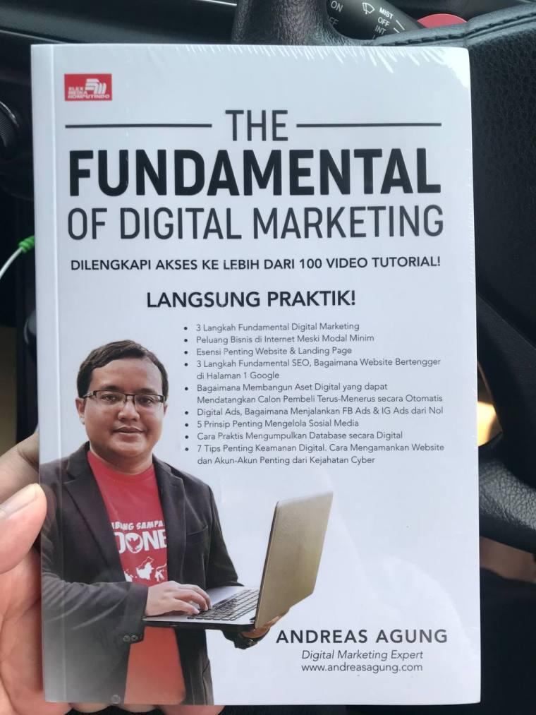 Buku The Fundamental Of Digital Marketing By Andreas Agung