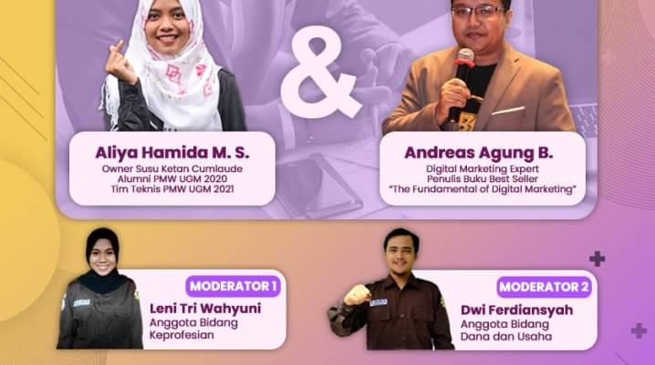 Pembicara Webinar Nasional Digital Marketing UNILA Lampung