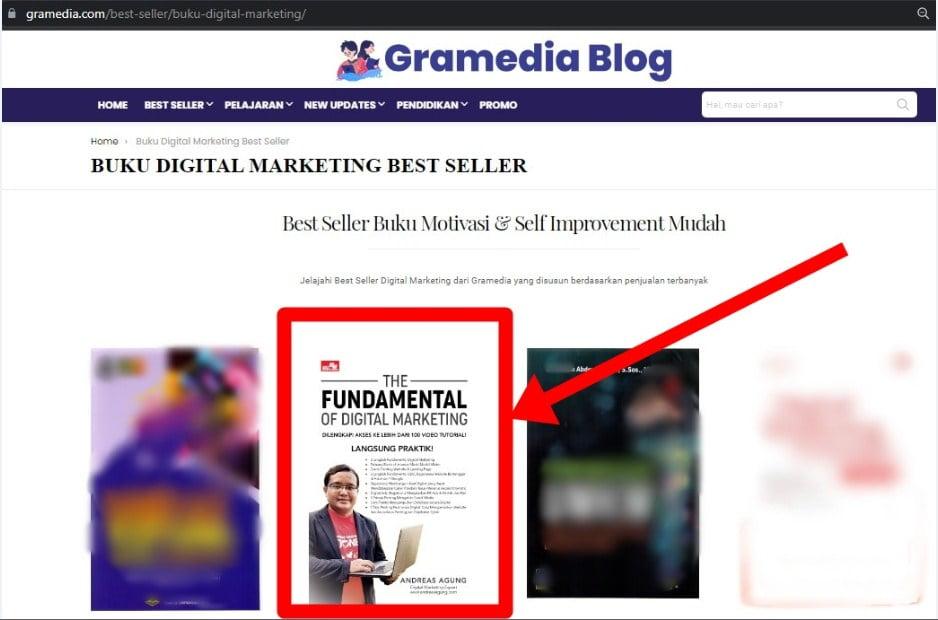 Buku Digital Marketing Best Seller