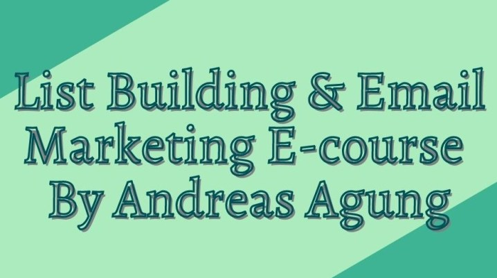 Kursus Online List Building dan Email Marketing untuk Pemula
