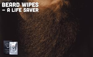 Beardilizer beard wipes