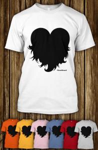 #heartbeard t-shirts from Spreadshirt