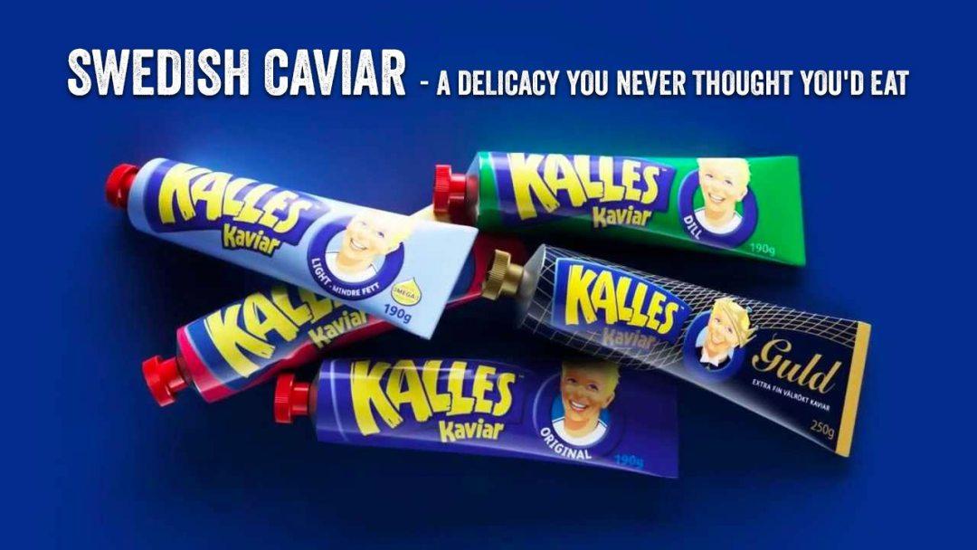 swedish caviar tubes