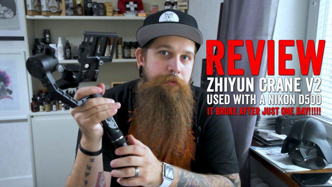 Zhiyun Crane v2 review Nikon D500