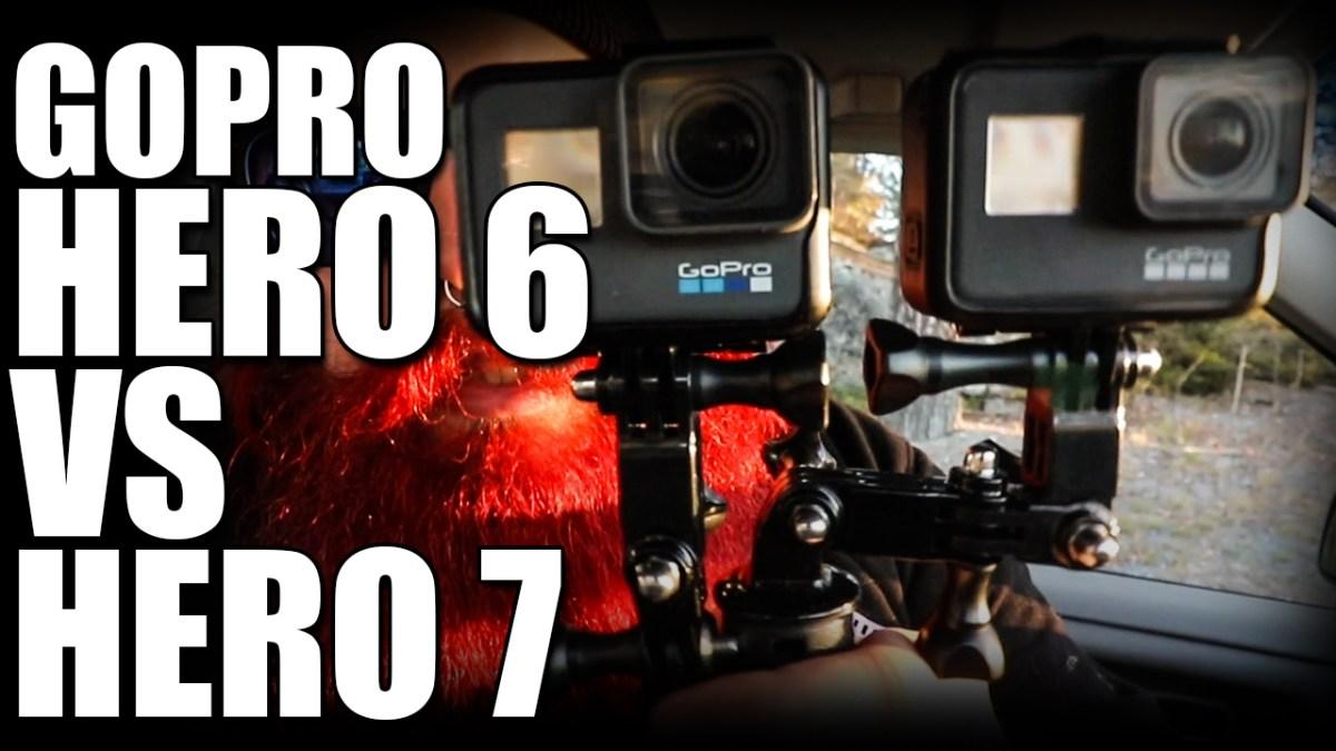 Jag testar GoPro Hero 6 vs Hero 7 - Värt att uppgradera?