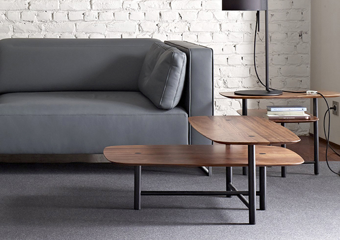 Piani Coffee Table For Ligne Roset Studio Kowalewski