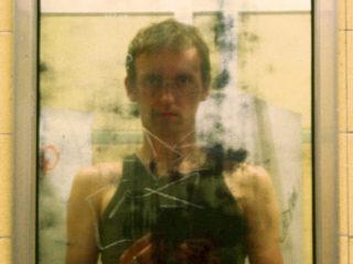 Washroom self-portrait