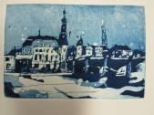 Heidelberg - Radierung Aquatinta - 1 Platte - 10 x 15 cm - Andreas Mattern