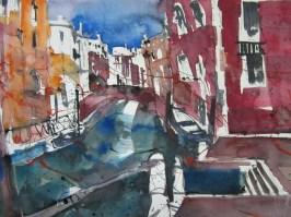 Venedig - Aquarell von Andreas Mattern