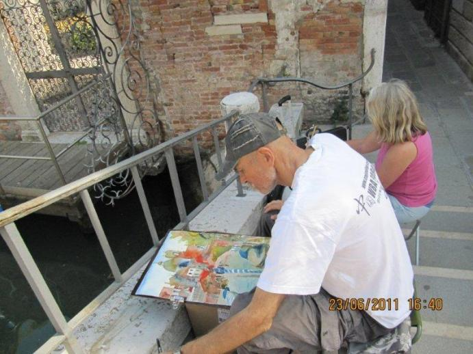 Oskar Brunner in Venedig 2011