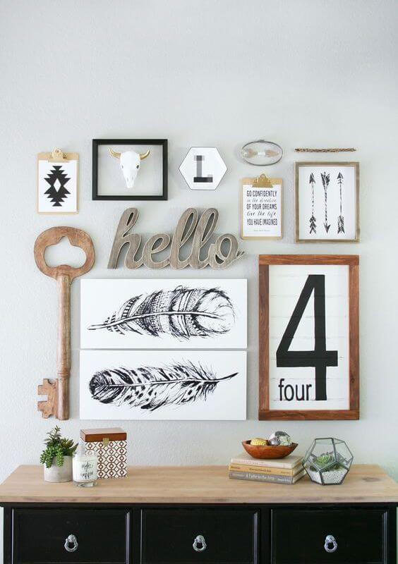 32 Gorgeous Gallery Wall Ideas that Everyone in the House will Love