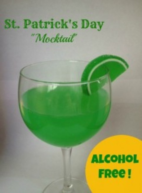 St. Patrick's Day Mocktail Recipe