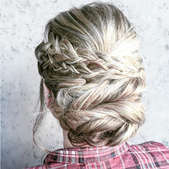 26 Beautiful Braided Updo Ideas from Instagram