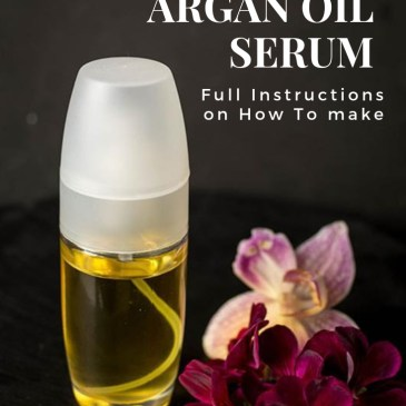How To Make Anti-Aging Argan Oil Serum