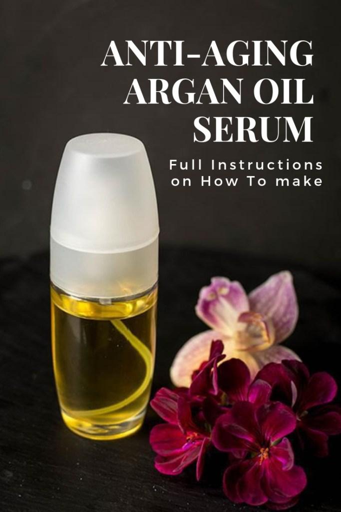 How To Make Anti-Aging Argan Oil Serum