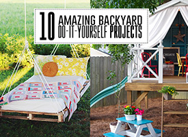 10 amazing DIY projects