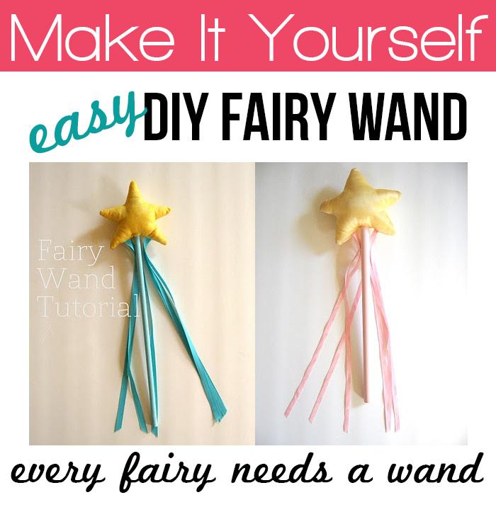 Make an easy fairy wand #tutorial