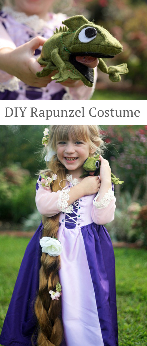 Make your own Rapunzel costume!