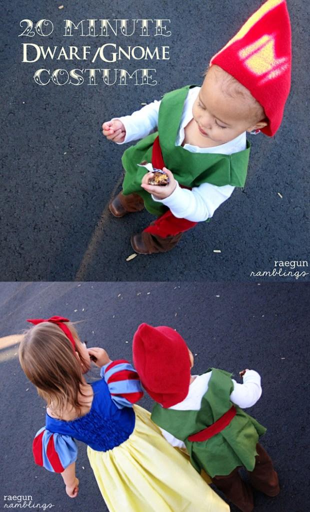20 minute gnome or dwarf costume tutorial