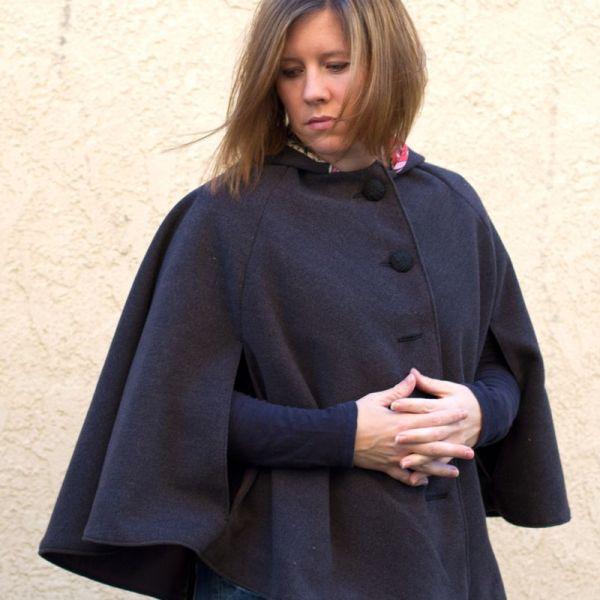 DIY cape for women