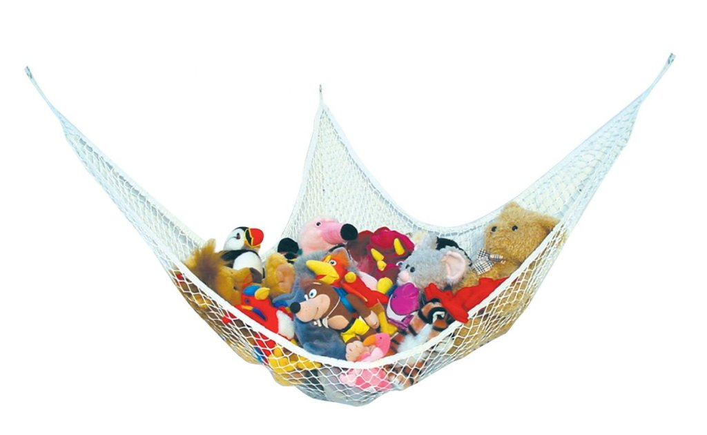 Toy hammock and tons of other great toy storage solutions
