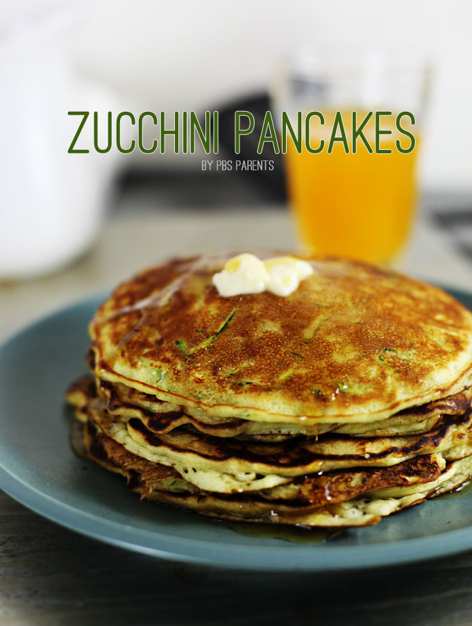 zucchini pancakes & lots more delicious healthy pancakes!