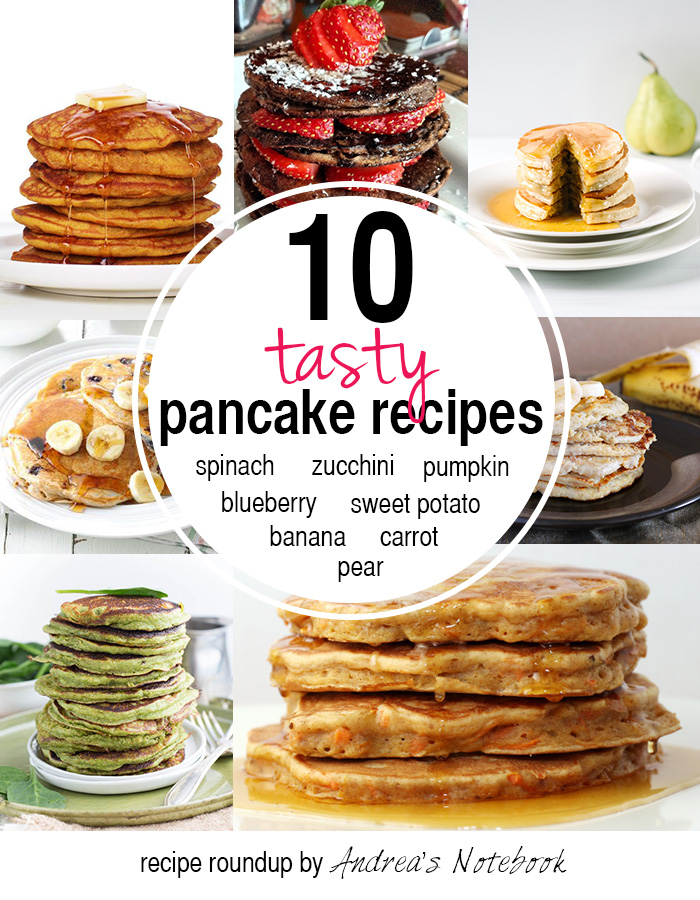 10 healthy pancake recipes!