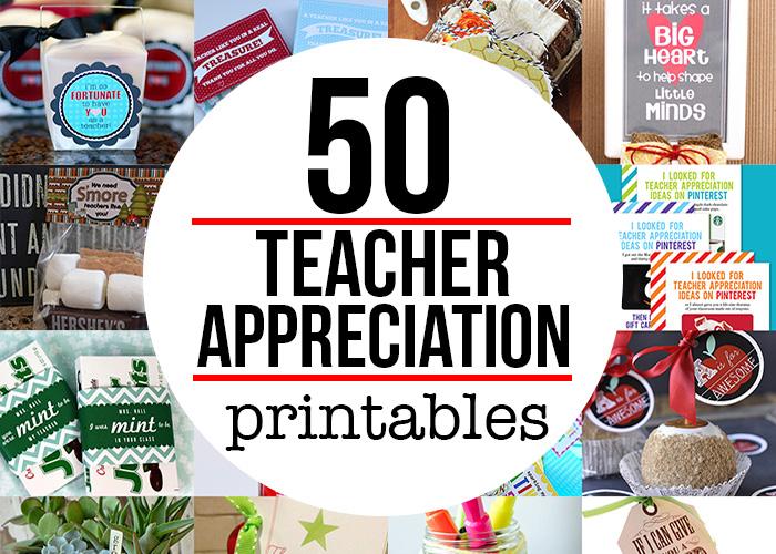 Teacher Appreciation Gift Printables Andrea S Notebook