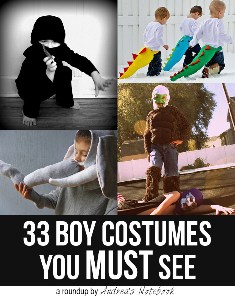 33 Boy Costumes you MUST see! Amazing!