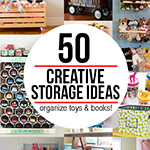 50 creative storage ideas