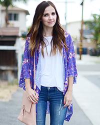 30 Minute Jersey Kimono Tutorial