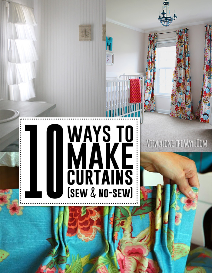 Sew a curtain tutorials for Curtain making service