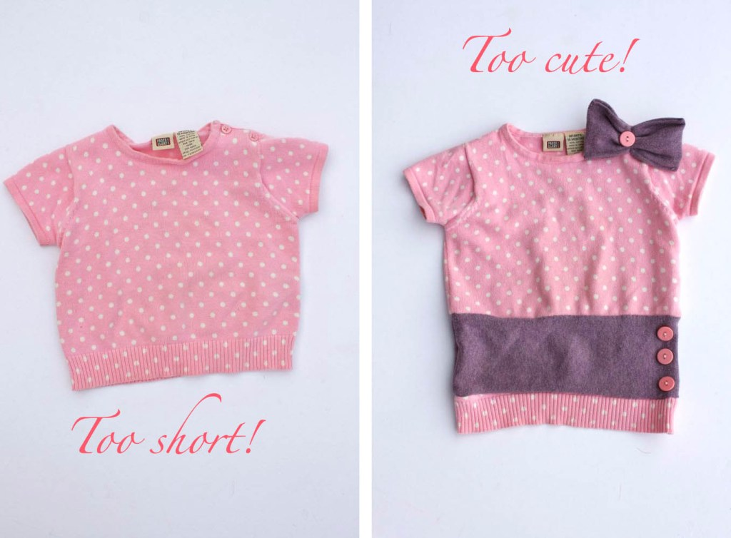Make a sweater bigger! Lots of great tips to make kids clothes last longer!