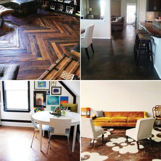 Creative DIY floor ideas