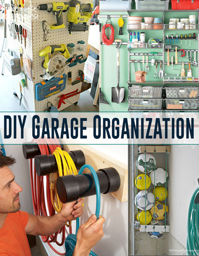 Get your garage organized!