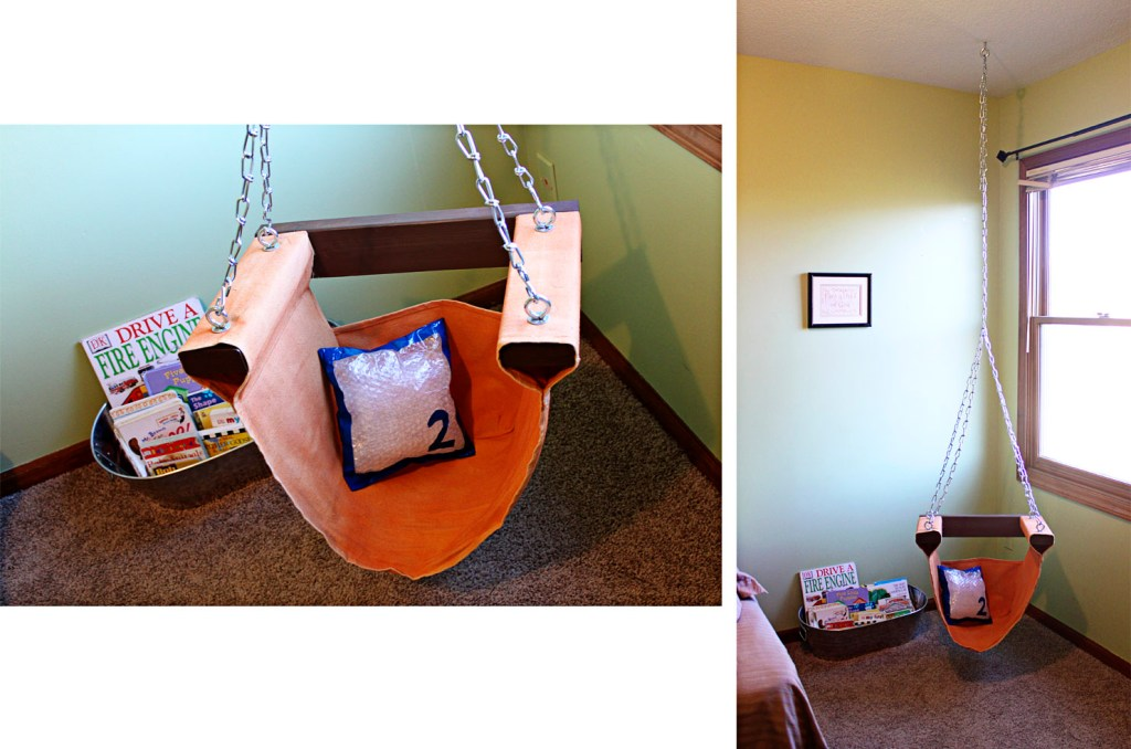 Cute reading nook chair by SugarBeeCrafts