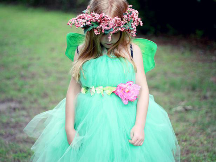 DIY fairy princess tutu costume tutorial