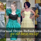 prom dress refashion ideas