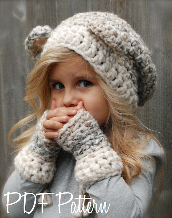 Lots of adorable crochet hat patterns for girls
