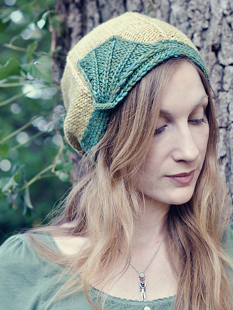 newborn to adult sizes! Adorable knit hat pattern.